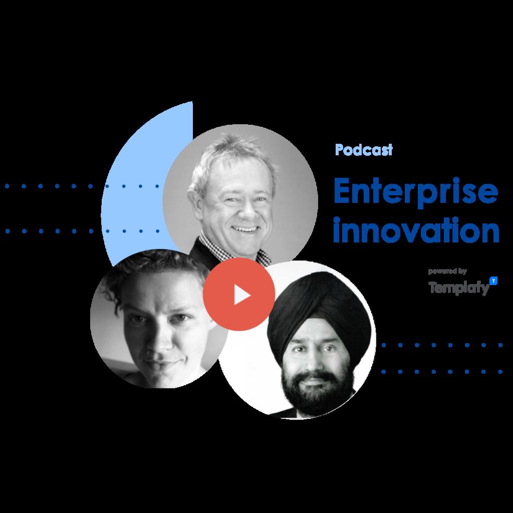 Image representing enterprise innovation podcast series