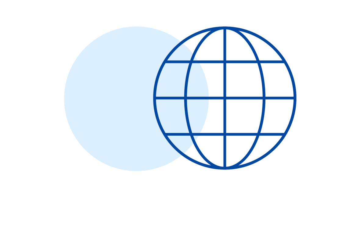 illustration of globe