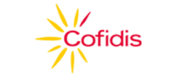 Image of Cofidis logo in yellow and red colors
