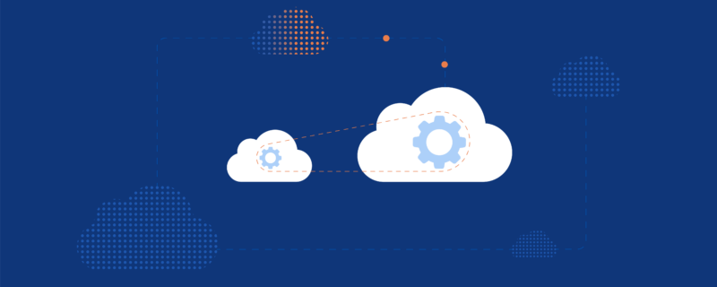 Graphic depiction of innovation in the cloud